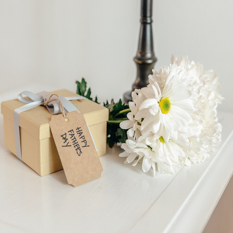 2021 Father's Day Gift Guide- father's day gift near flowers and lamp
