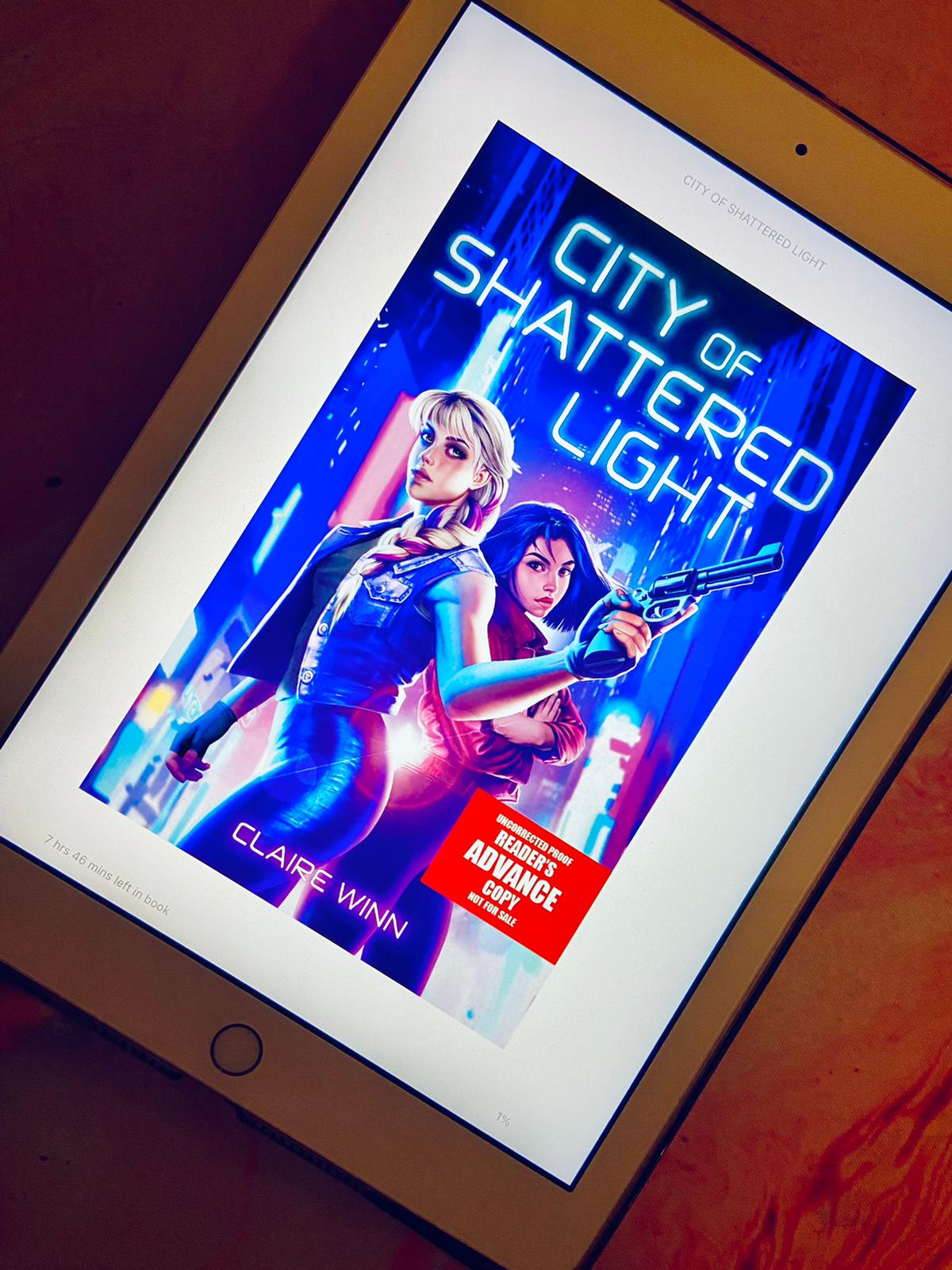 A picture of City of Shattered Light by Claire Winn