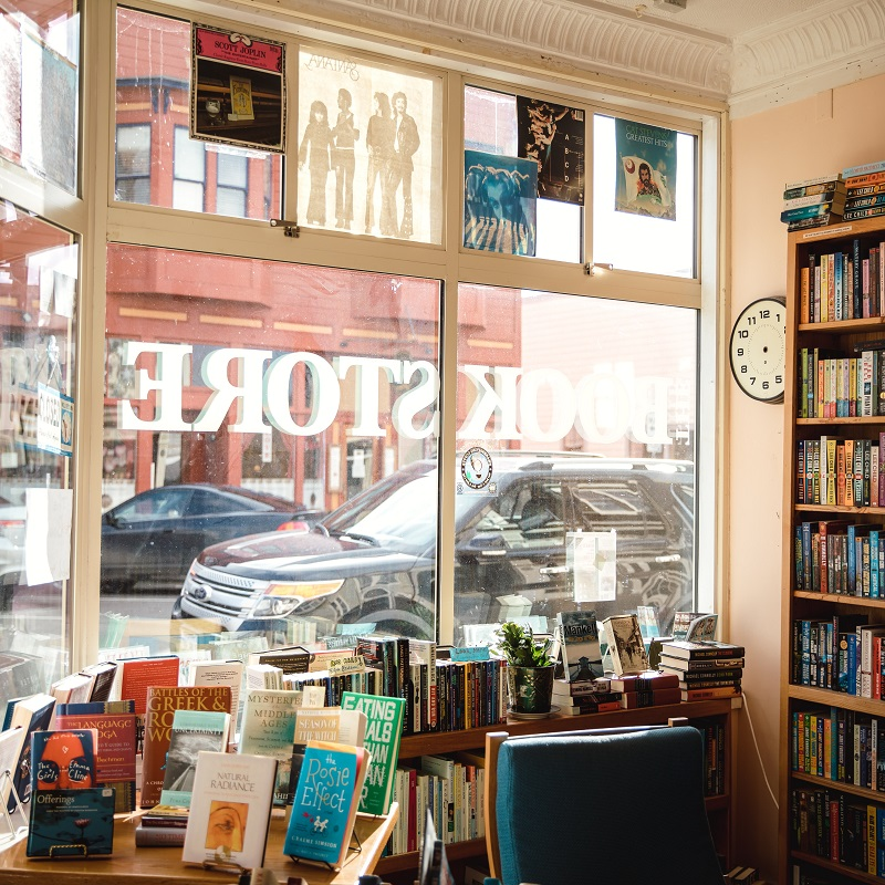Top Three Independent Bookstores in New York City - window front